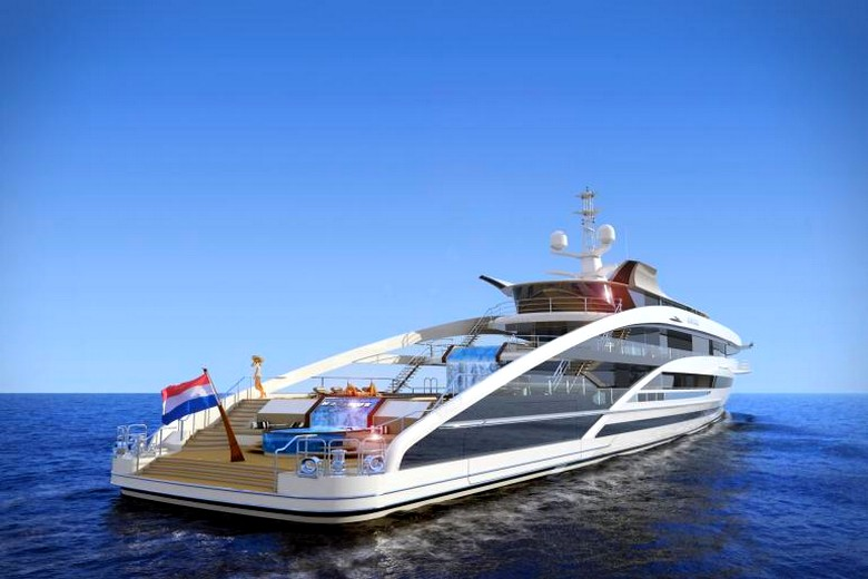 Project Maximus Heesen revealed the concept for thir largest yacht to date