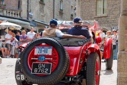 87 years of Mille Miglia: Jay Leno, Adrien Brody, Jeremy Irons, Brian Johnson, Wolfgang & Ferdinand Porsche competing @ 2014 Mille Miglia