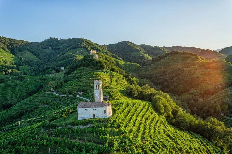 Prosecco Hills of Conegliano and Valdobbiadene proclaimed UNESCO World Heritage Site