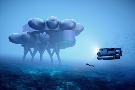 Proteus – An International Space Station, Underwater