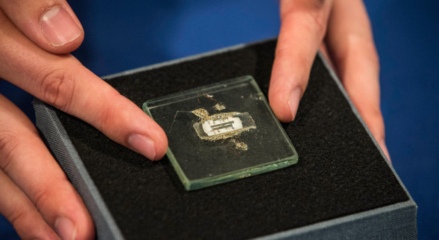 Prototype of world's first microchip goes up for auction at $1,000,000
