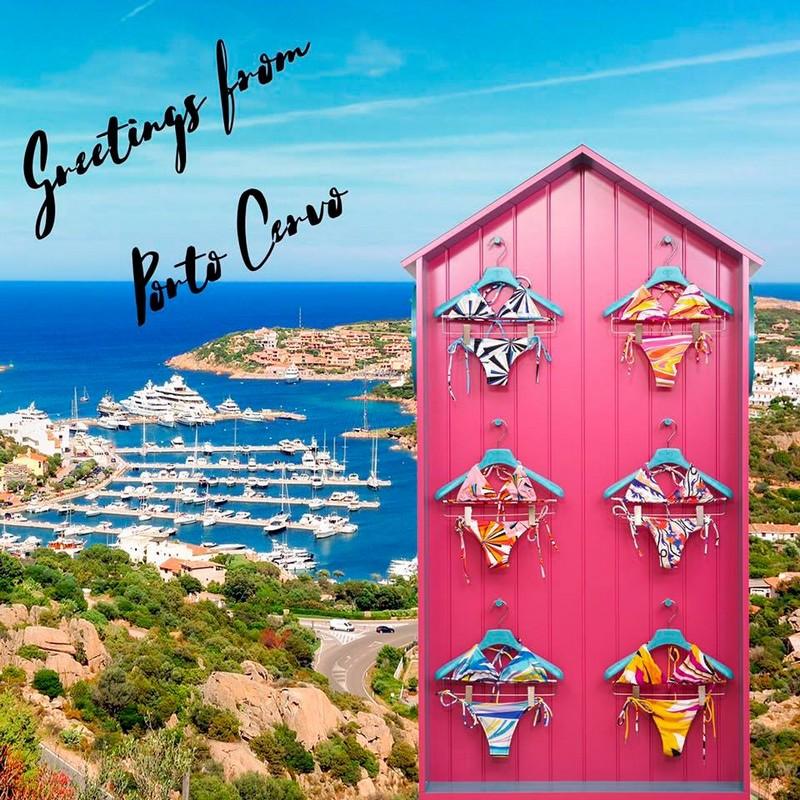 PucciBikiniBar moved in another Mediterranean location Porto Cervo