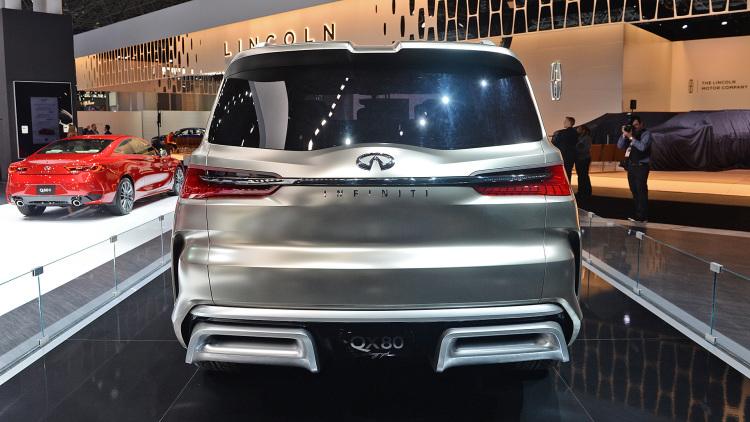 QX80 Monograph is the ultimate expression of futuristic luxury SUV design -