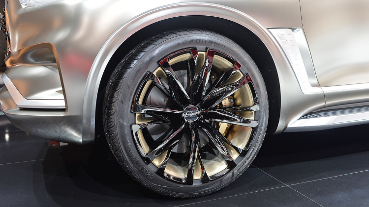 QX80 Monograph is the ultimate expression of futuristic luxury SUV design - wheels