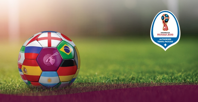 Qatar Airways is The Official Partner and the Official Airline of FIFA