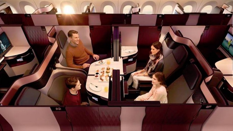 Qatar Airways is introducing Qsuite First in Business-