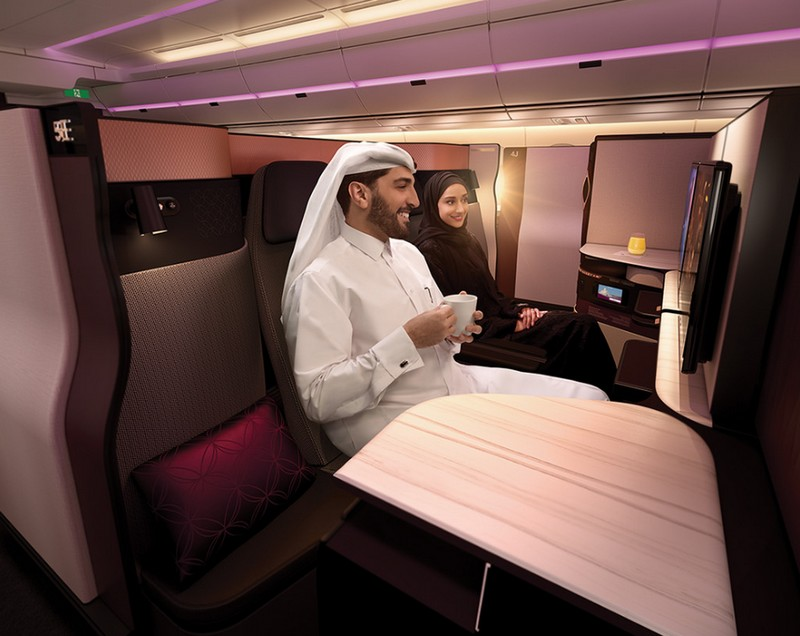Qatar Airways is introducing Qsuite First in Business - the launch event at ITB Berlin 2017 -