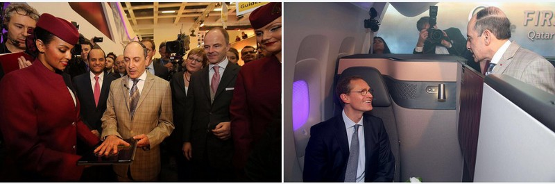 Qatar Airways is introducing Qsuite First in Business - the launch
