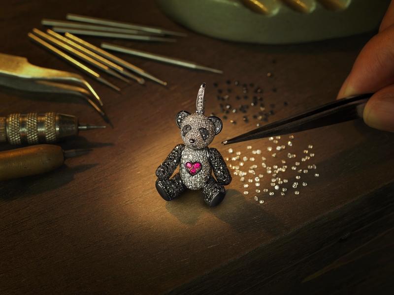 Qeelin Chinese luxury jewellery brand Pandas