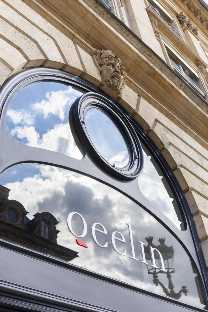 Qeelin Chinese luxury jewellery brand window 2019