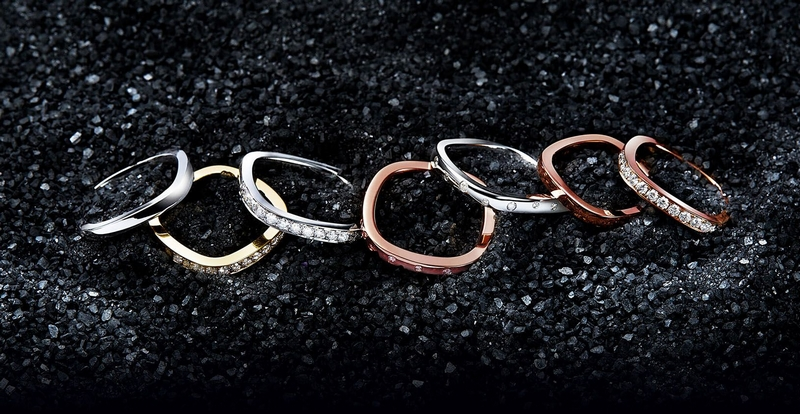 Qeelin Tien Di collection is neither circle nor square., celebrating harmony and everlasting love