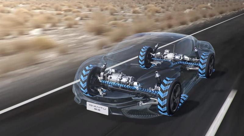 Qiantu K50 x Mullen USA electric cars