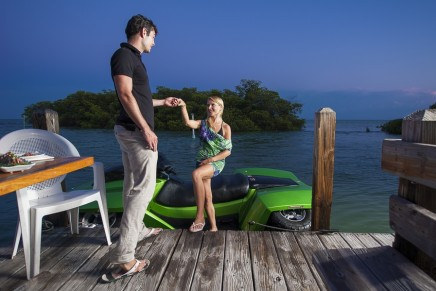 Discovering Corfu by Both Land and Water Aboard A Quadski