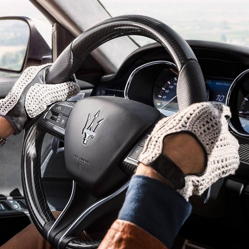 Quattroporte's gearshift paddles
