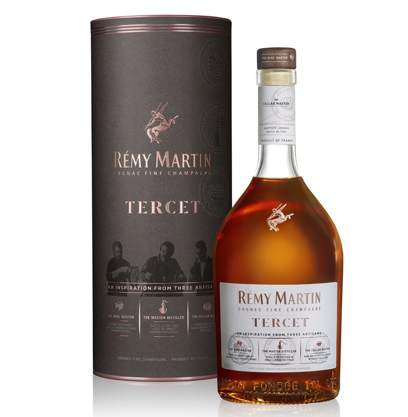 RÉMY MARTIN ANNOUNCES TERCET - AN INSPIRATION FROM THREE ARTISANS