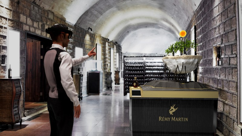 Rémy Martin Rooted In Exception HoloLens Experience