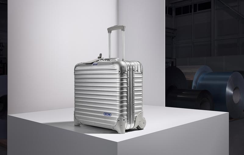 RIMOWA celebrates 80th anniversary of aluminum suitcase - David Fincher
