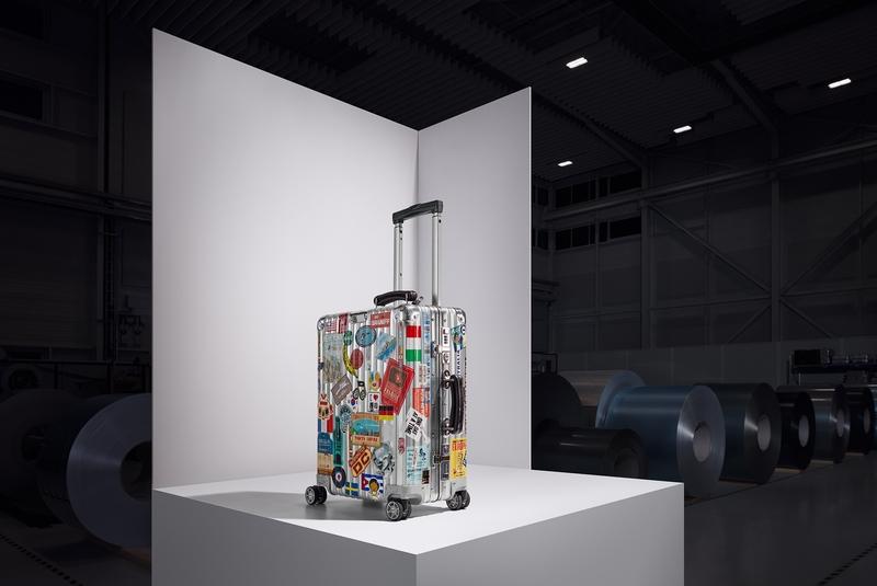 RIMOWA celebrates 80th anniversary of aluminum suitcase-Massimo Bottura