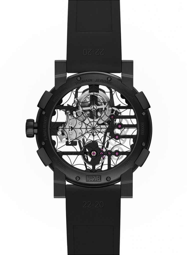 RJ-Romain Jerome x Spider Man - a unique collection dedicated to the most agile Super Hero