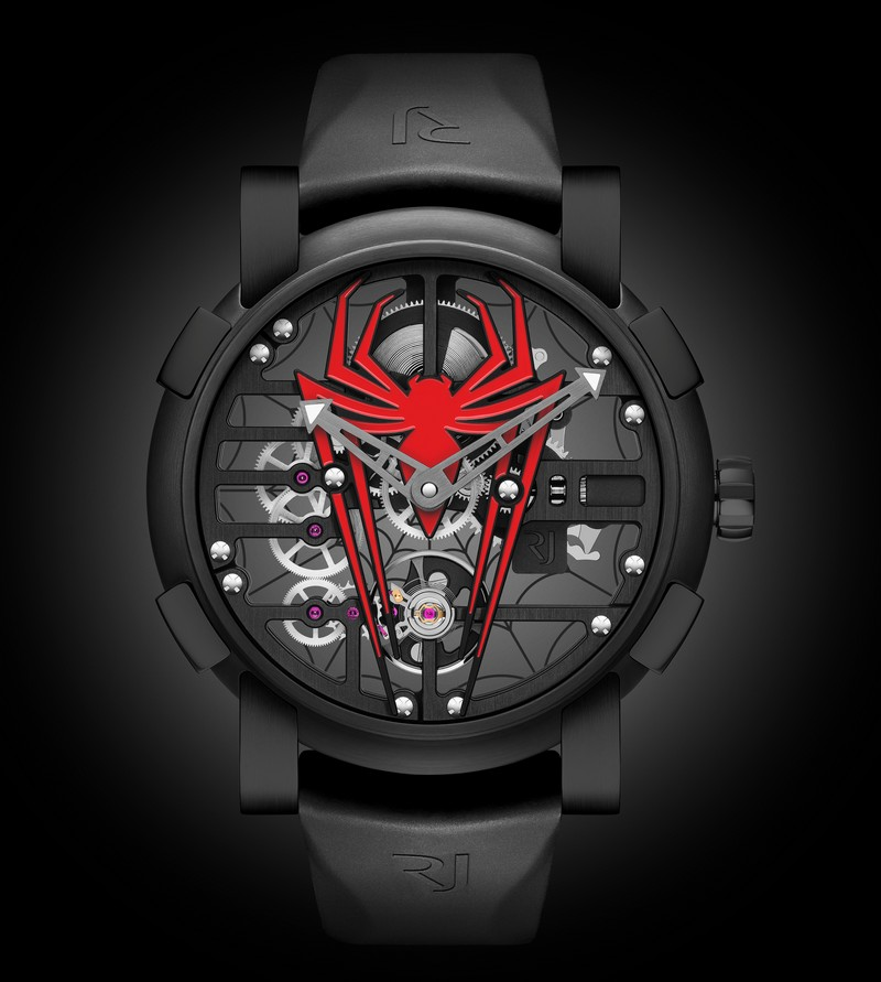 RJ-Romain Jerome x Spider Man watch - a unique watch collection dedicated to the most agile Super Hero-SIHH 2018