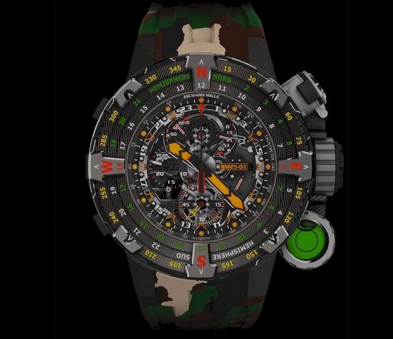 RM 25-01 Tourbillon Adventure Sylvester Stallone timepiece