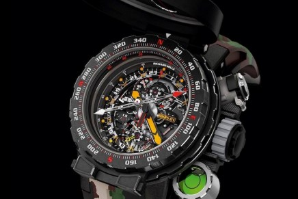 Truly a horological UFO, this timepiece is, as Sylvester Stallone says, Ready for action