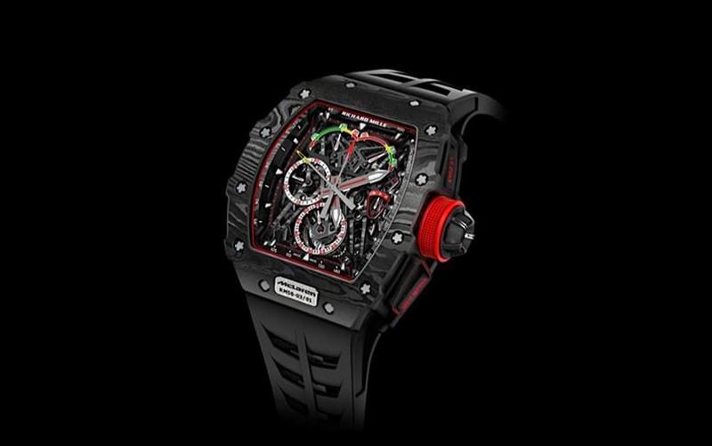 RM 50-03 Tourbillon Split Seconds Chronograph Ultra Light McLaren