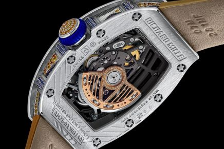The new RM 71-02 Automatic Tourbillon Talisman erupts in coloured stones