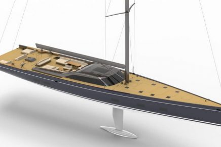 Royal Huisman's new commission is an impressive lightweight 46m high-performance cruiser sloop