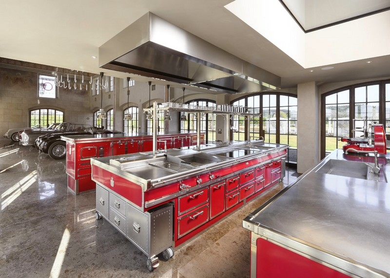 RUBIN RED & BRUSHED NICKEL by Officine Gullo