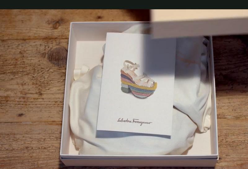 Rainbow Future sandals-