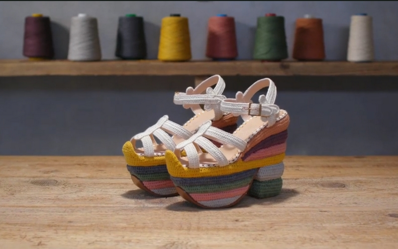 Rainbow Future sandals