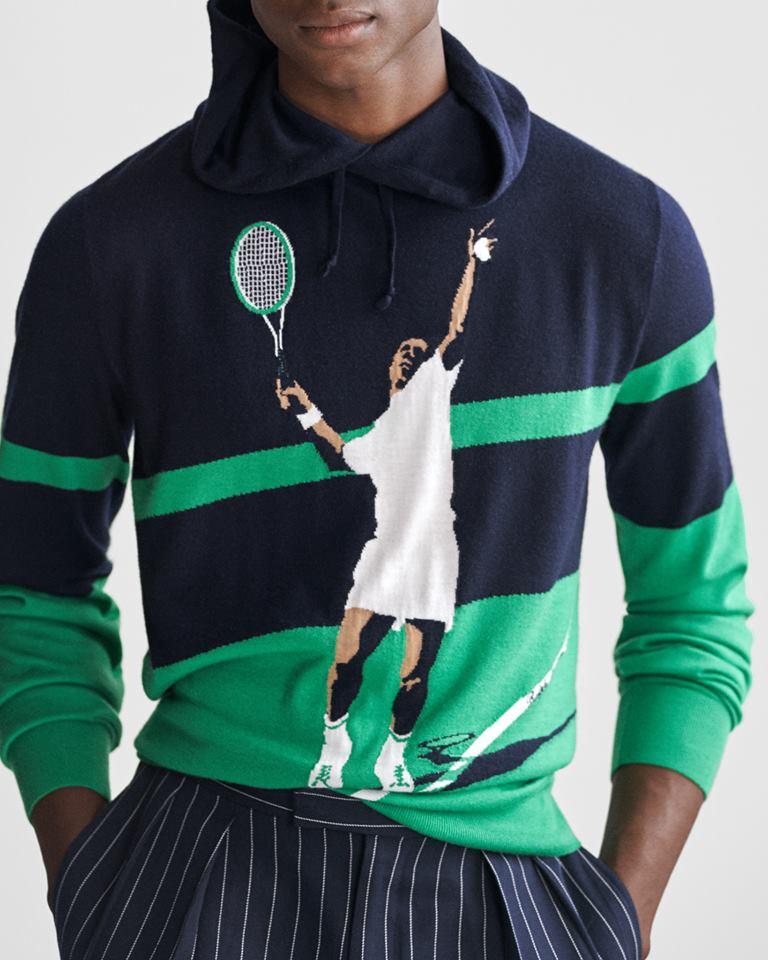 Ralp Lauren Purple Label Spring 2019 - sweater