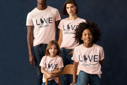 Together in Pink: Ralph Lauren Live Love T-Shirt – a symbol of the commitment in the fight against cancer