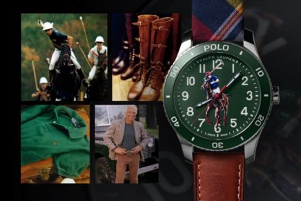 Ralph Lauren's iconic pony logo debuts on a limited-production timepiece