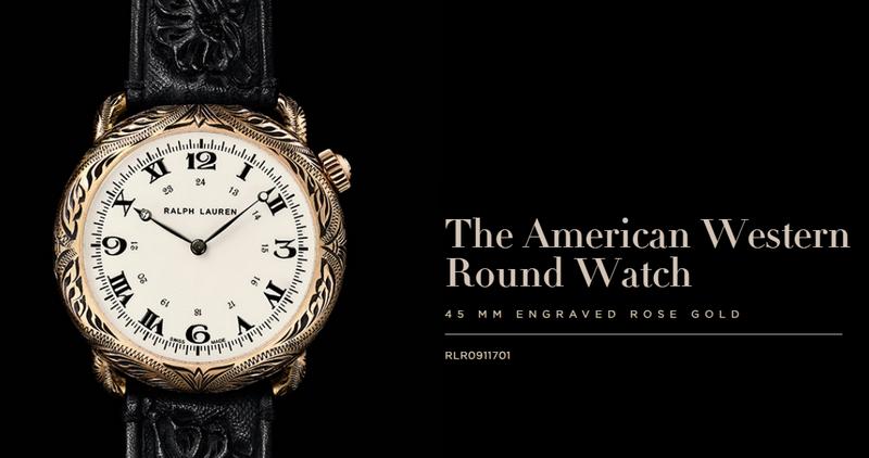 Ralph Lauren The American Western Round Watch