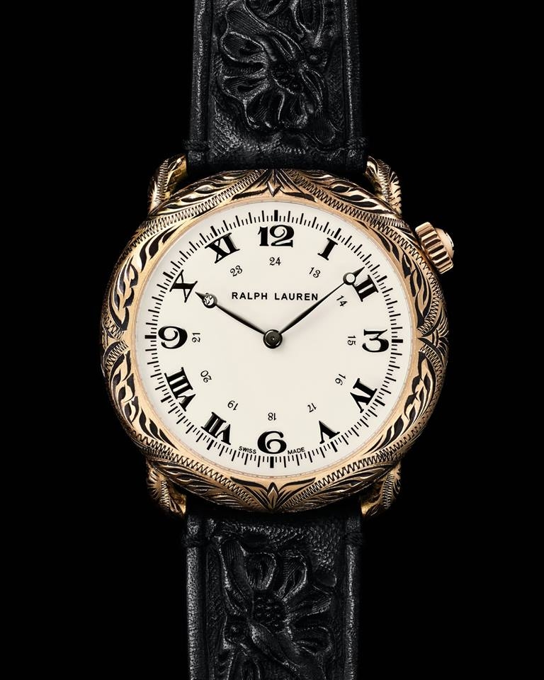 Ralph Lauren introduces The American Western Watch Collection