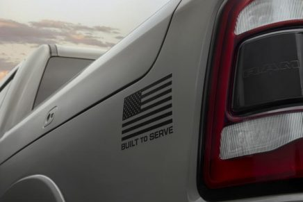 Built to Serve Edition Ram trucks honor five branches of the United States armed forces
