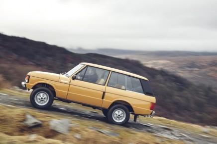 Range Rover Reborn at 2017 Salon Rétromobile