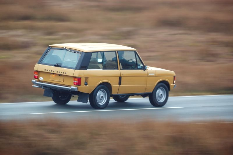 Range Rover Reborn - A rare opportunity to own a genuinely collectible automotive icon
