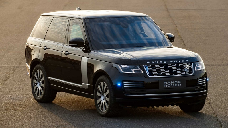 Range Rover Sentinel features the latest occupant protection-01