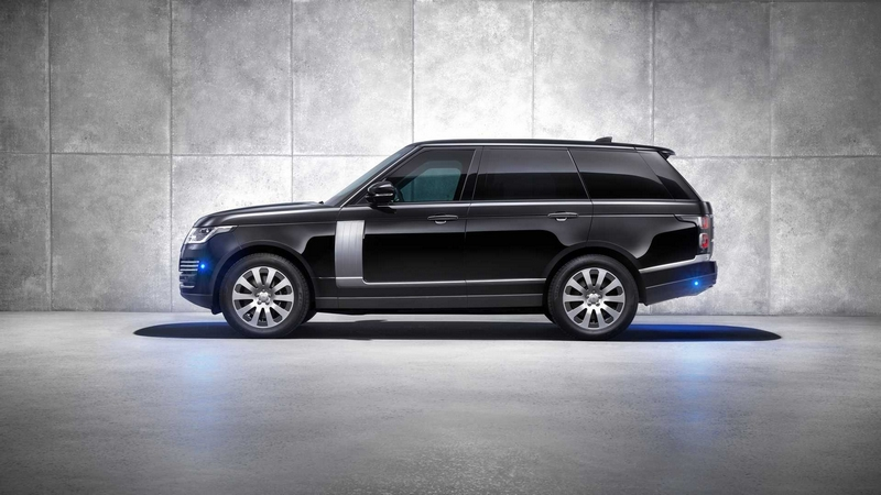 Range Rover Sentinel features the latest occupant protection-2019