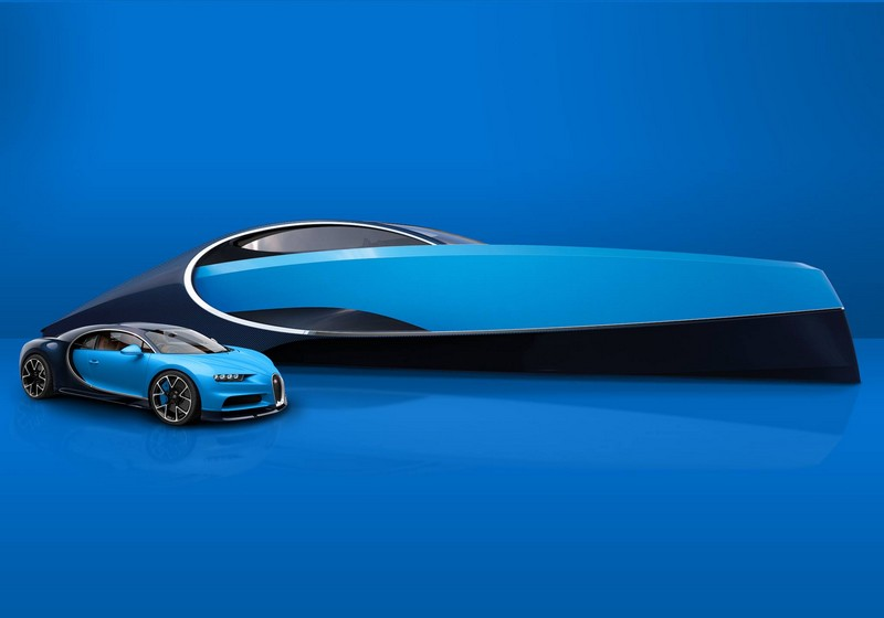 Bugatti Niniette 66 yacht. Re-designed to be the perfect match to the ... Fastest Speedboat In The World