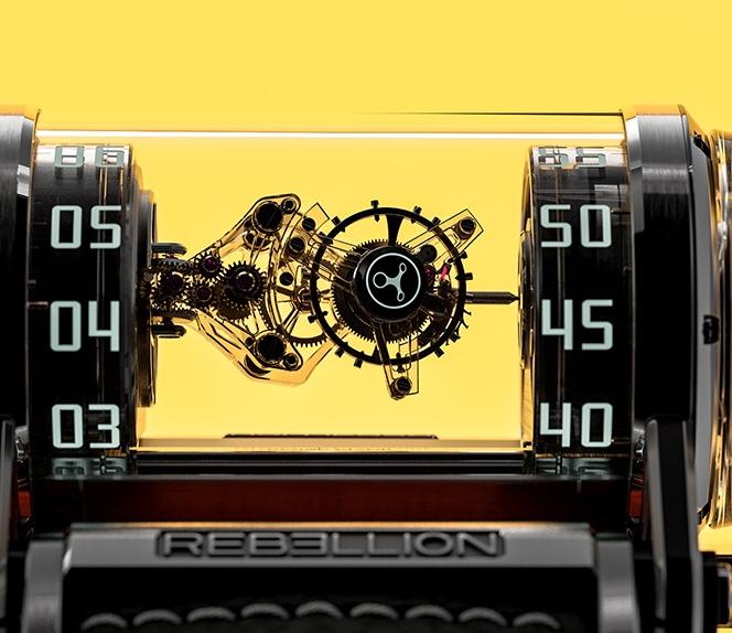 Rebellion Timepieces Weap-One Diamonds timepiece 2019 - cloeseup