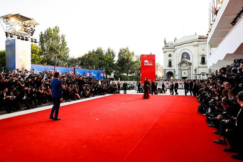 Red carpet at the 2017 Venice Film Festival 2017 - La Biennale di Venezia