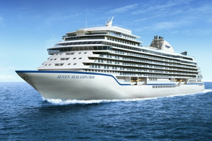 The most luxurious ship ever built to boast the highest space ratio in the cruise industry