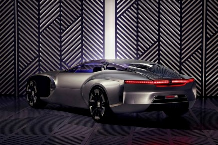 The Coupe Corbusier concept car