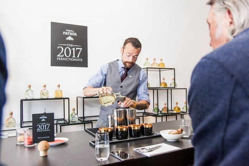 Renowned bartender Dirk Güldner stunned all with 'The Golden South,' earning him the title of Germany's 2017 Patrón Perfectionists.