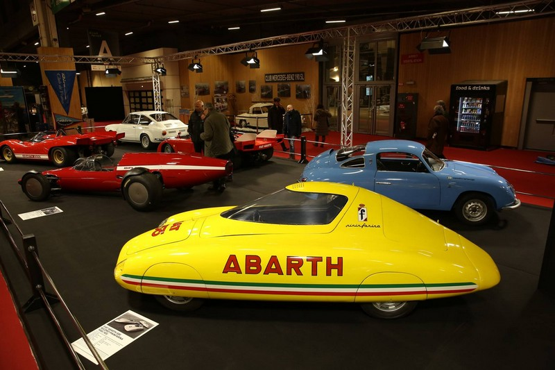 Retromobile 2018-Abarth Car Collection-