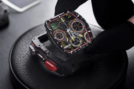 The new RM 65-01 is the most complex timepiece ever to leave the Richard Mille workshops